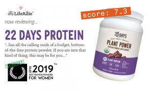 22 Days Plant Power Protein Review - I Would Stay Away