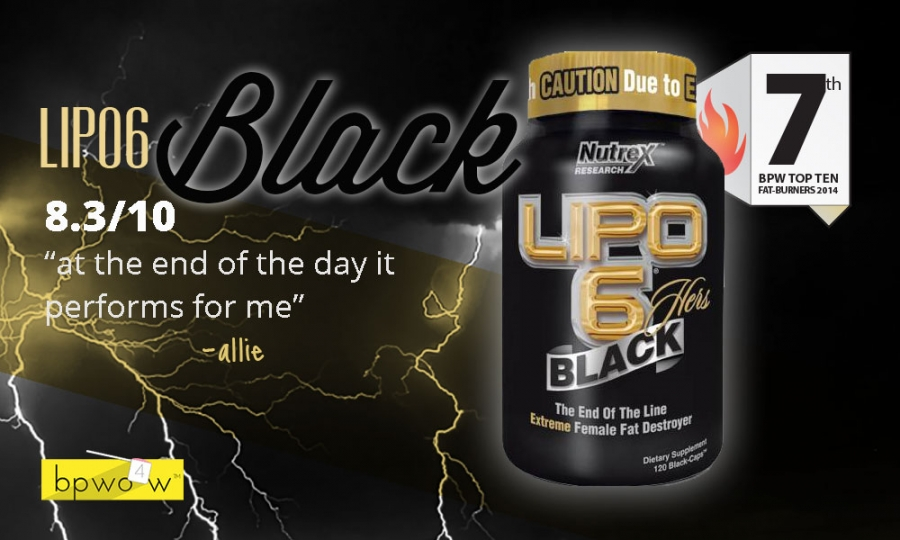 Lipo 6 Black Hers Reviews