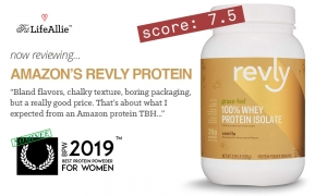 Amazon Revly Protein Review: A Truly UnderWhelming Effort