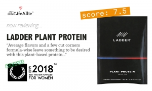 Ladder Protein Review- Lebron's Plant Protein Falls Short.