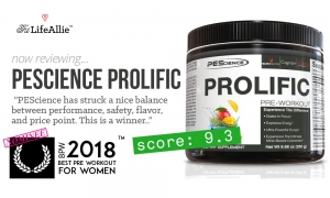 PEScience Prolific Review: My NEW Favorite Pre Workout?