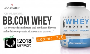 My Bodybuilding.com Signature Whey Review: No Thank You.
