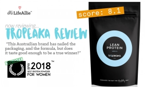 Tropeaka Lean Protein Review: Just a Touch Above Average.