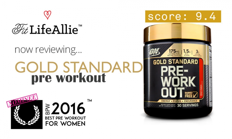 Gold Standard Pre Workout Review: The Cadillac of Pre Workouts