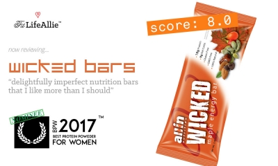 My Wicked Protein Bar Review: They're Delightfully Imperfect.