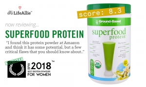 Ground-Based 'Superfood Protein' is OK, but has a few flaws.