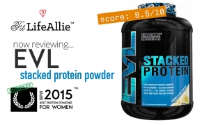 EVL Nutriton Stacked Protein Review: Pretty Basic Stuff Right Hurr'