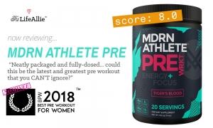 REVIEW: MDRN Athlete Pre Workout is WAY too Strong...