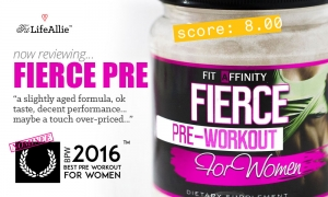 My Fit Affinity Fierce Pre Workout Review: Is it Bae?