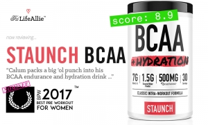 Staunch BCAA Hydration Review: I Test Out Calum's 2nd Product.