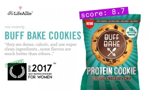 Buff Bake Protein Cookie Review: They're Dense, Oh So Dense.