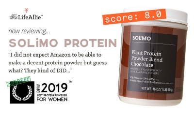 Solimo Plant Protein Review: Amazon's Protein Is Actually OK
