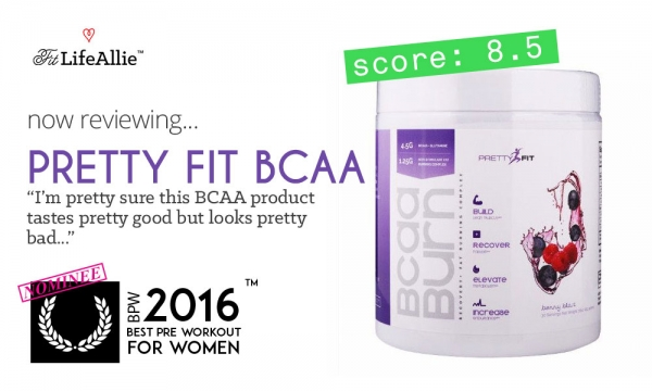 Pretty Fit BCAA Burn Review: Pretty Average if You Ask Me